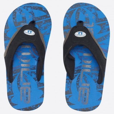 Animal Jekyl Logo Boys Flip Flop - Seaport Blue