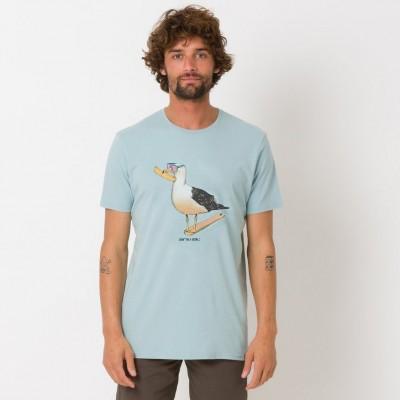 Animal Gully T-shirt - Blue Mist