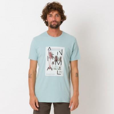 Animal Loffy T-shirt - Blue Mist