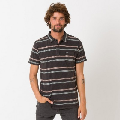 Animal Lyfer Polo Shirt - Black