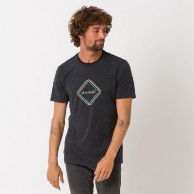 Animal Tez T-shirt - Dark Charcoal Marl