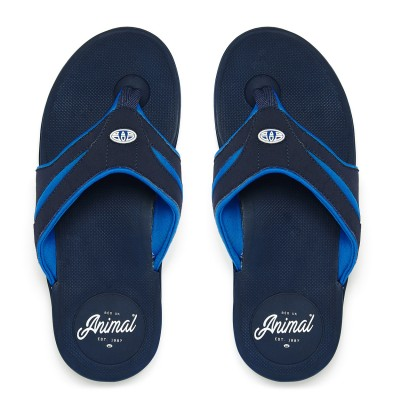 Fader Animal FLip-flops Dark Navy