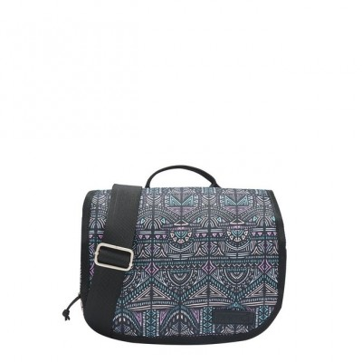 Animal Crest Handbag - Black
