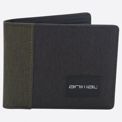 Animal Provoked Wallet - Dusty Olive Green