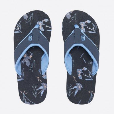 Animal Swish Aop Flip Flop - India Ink Blue