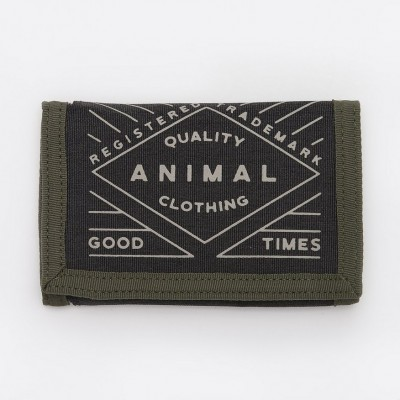 Animal Modify Wallet - Dusty Olive Green