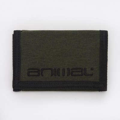 Animal Vex 3 Leaf Wallet - Dusty Olive Green