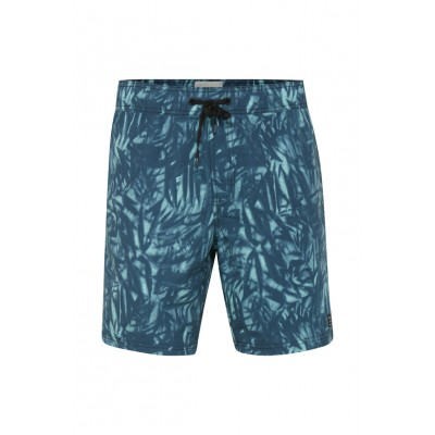 Blend Flower Swim Shorts - Granite