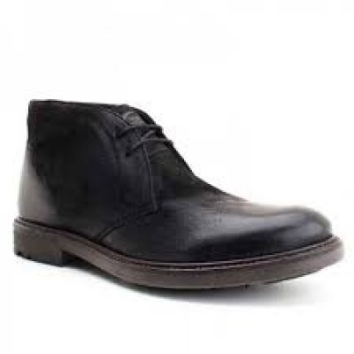Carbon - Black Greasy Suede