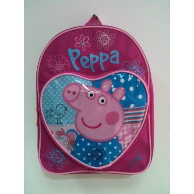 Pepper Pig Heart Bag
