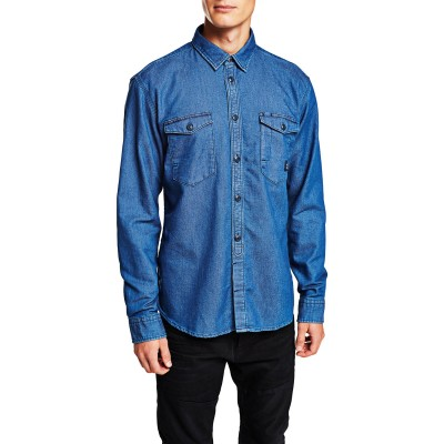 Curt Shirt Light Blue Denim