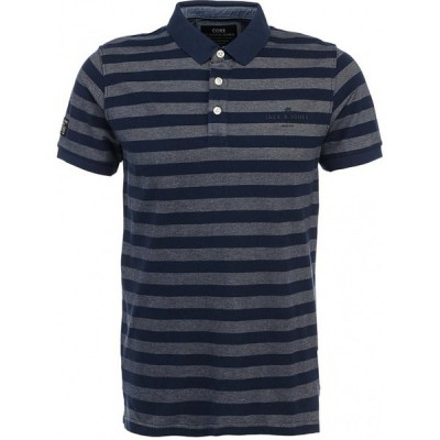 Cooper Polo - Monument/Dress Blue