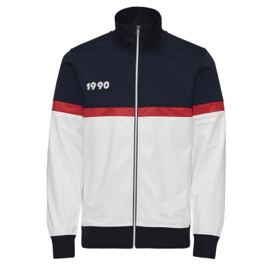 Bez Zip Jacket - Navy Blazer