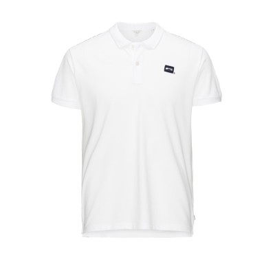 Basic Jack&Jones Polo Shirt - White