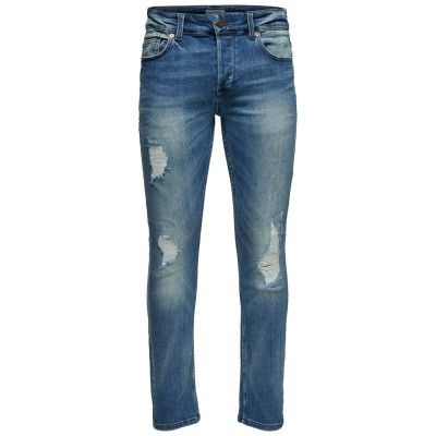 Loom Only&Sons Jeans - Blue Washed