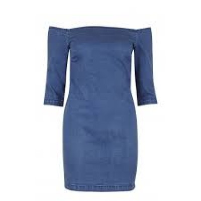 Brigitte Denim Dress