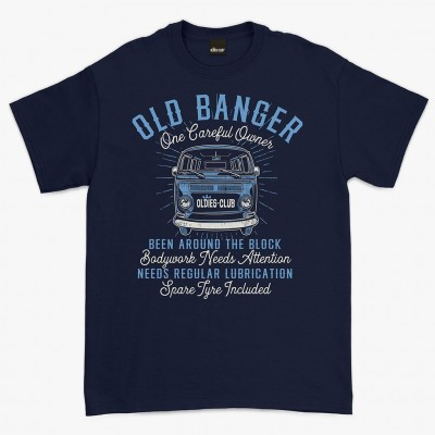 Oldies Club 'Old Banger' T-shirt - Navy