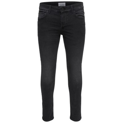Spun Only&Sons Black Washed Jeans
