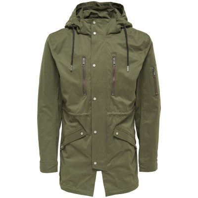 Klaus Only&Sons Parka - Olive Night