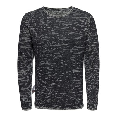 Catre Only&Sons Knitted Crew Neck - Dark Navy