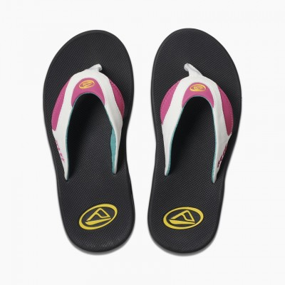 Reef Fanning Flip flops - Bright Nights