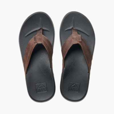 Reef Cushion Bounce Phantom LE Flip Flops - Black/Brown