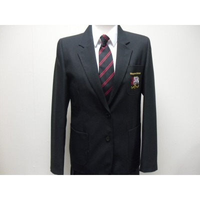 Girls Black Fitted Zeco Blazer( no logo)