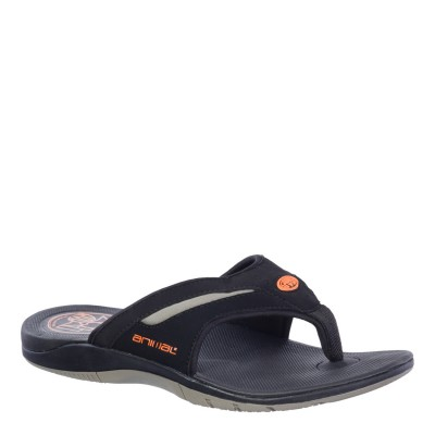 Fader Men's Animal Flip Flop - Black