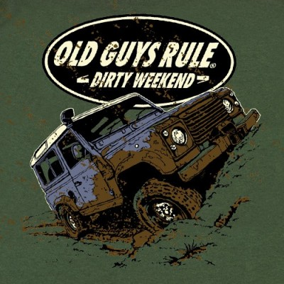 Old Guys Rule Dirty Weekend T-shirt