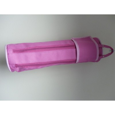 Large Rounded Pencil Case ( pink)