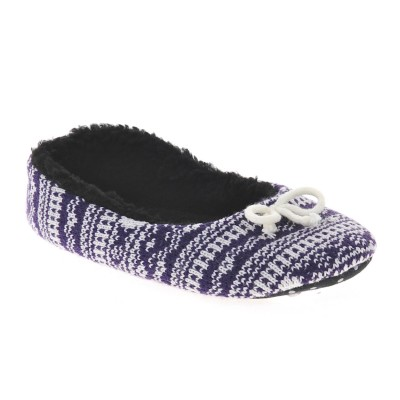 Kandy Purple Animal Slippers