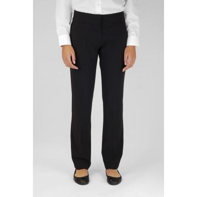 Trutex Slim Leg Trousers Black 24W - 26W