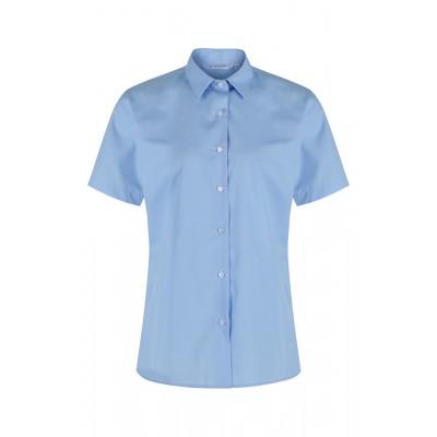 """Blue Short Sleeve blouses 2Pk  (28""""-34"""")"""