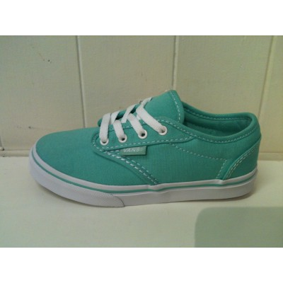 Girls Atwood Low Mint/White Vans
