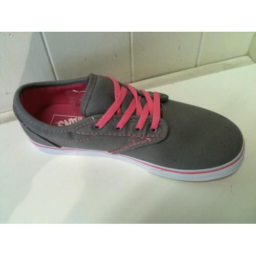 Girls Atwood (canvas) Grey Pink Lemonade Vans 0b638e806