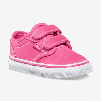 Girls Atwood V Pink/White Vans