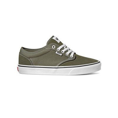 Atwood (Suede/Canvas) Dusty Olive/White