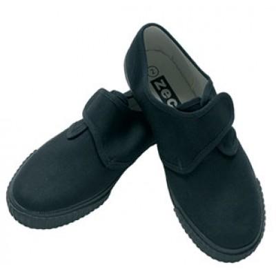 Unisex Black Velcro Plymsols
